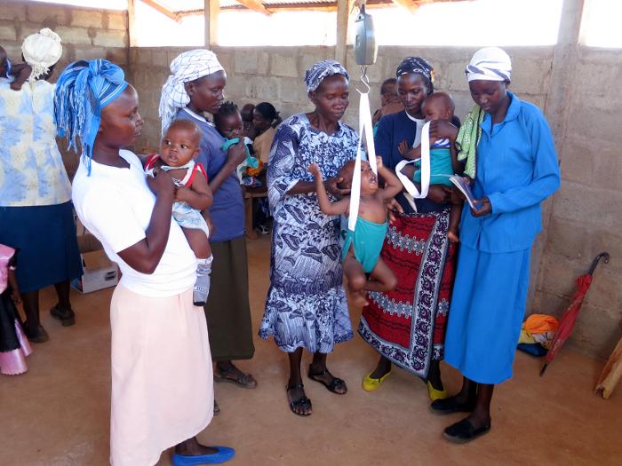 Adotta un ospedale per bambini in Kenya