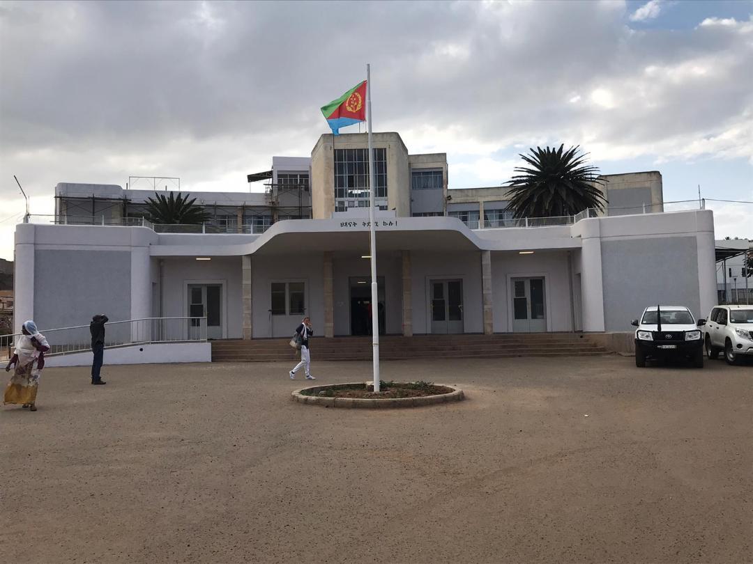 Inaugurazione del Pronto Soccorso Pediatrico di Asmara