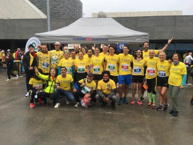 FLORENCE MARATHON 2019: Run for solidarity, run for Annulliamo la Distanza! Thanks to everybody!