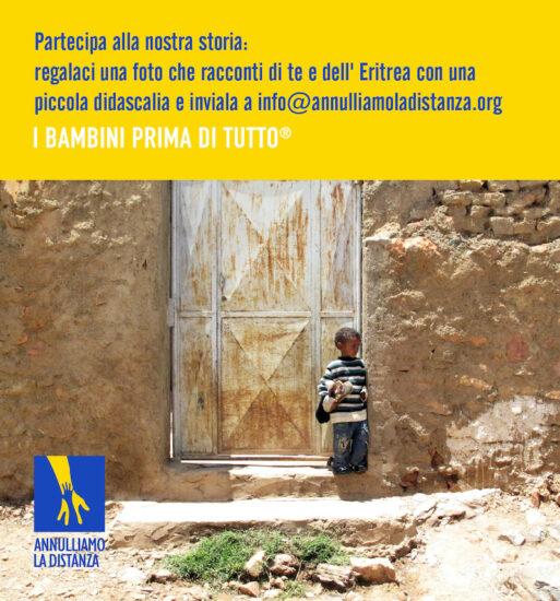 Partecipa alla nostra storia: inviaci una foto che racconti di te e dell'Eritrea